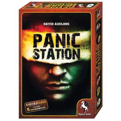 德國兒童桌上遊戲Panic Station,驚恐太空站,異形危機,絕命終結站Pegasus Spiele桌遊玩具局戲教具