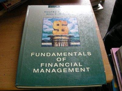 崇倫舊書坊    FUNDAMENTALS  OF  FINANCIAL  MANAGEMENT
