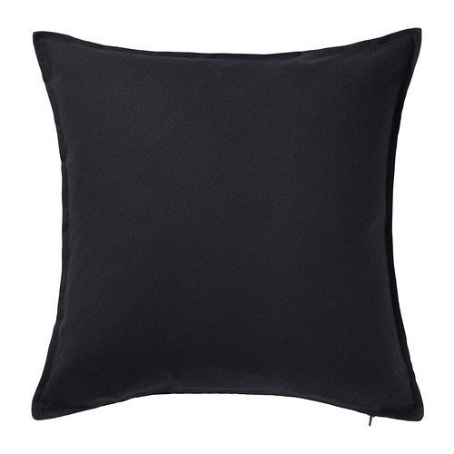 ☆創意生活精品☆IKEA GURLI 抱枕套(黑色) 50x50 公分