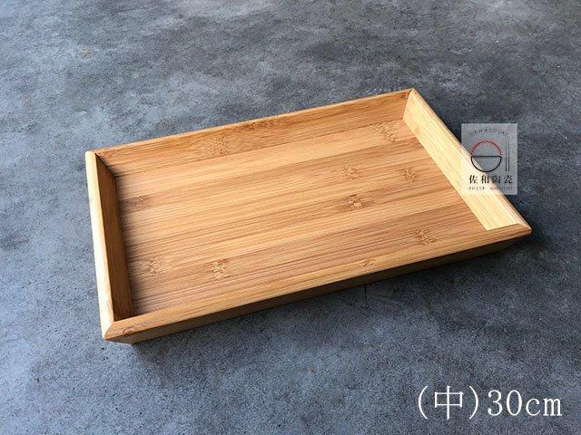 +佐和陶瓷餐具批發+【05TEM53 / 長方斜邊托盤-中30*20*3.5】托盤 木托盤 餐廳用具 擺盤
