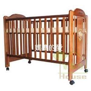 [ 家事達 ] Mother's Love-423 成長型四段高度調整 組合嬰兒床-大床 特價
