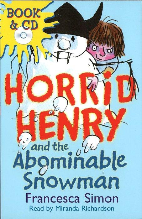*小貝比的家*HORRID HENRY AND THE ABOMINABLE SNOWMAN/平裝書+CD/7~12歲