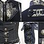 【古物箱~霹靂膠囊】日本手工職人品牌.OZZ ONE STE華麗中國風刺繡騎士外套(95%新.二手.古著.vintage