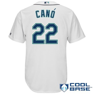 Robinson Cano Majestic White Home Cool Base Player Jersey
