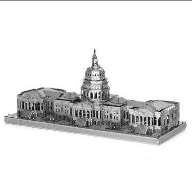 迷你3D鐵片模型 建築 美國國會山莊
