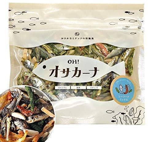 日本 OSAKANA 小魚乾系列 100g 下酒菜零食零嘴 味增 昆布 杏仁 海鮮 梅子 熟成起司【水貨碼頭】