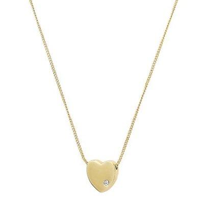 ☆青兒小公主☆MARC JACOBS Heart Slide Necklace 愛心鑲水鑽 項鍊
