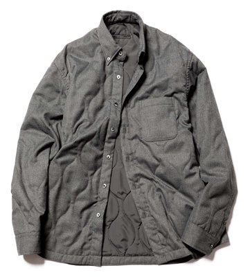 SOPHNET. QUILTING BIG BD SHIRT 112020360604。太陽選物社