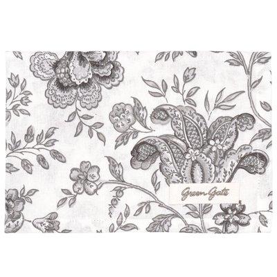 GreenGate Tea Towel Edith Warm Grey