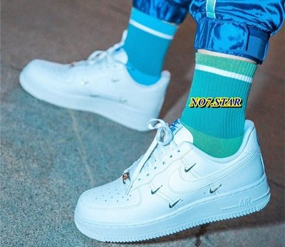 20S Nike Air Force 1 Low AF1 泫雅 全白 荔枝皮 小銀勾 休閒 男女鞋 CT1990-100