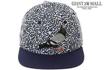 【GiantMall】Staple Scribble Snapback Hat 紐約 鴿子 經典 水波紋 電繡 棒球帽