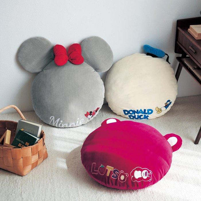 迪士尼Disney《預購》造型抱枕 靠墊50cm~米妮 唐老鴨 熊抱哥~日本正品~共3款~心心小舖