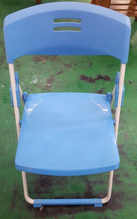 宏品二手家具館 中古傢俱賣場 F22814藍色折椅*中古客廳桌椅 電腦桌椅 餐桌椅 戶外休閒桌椅 洽談椅 辦公椅 泡茶椅
