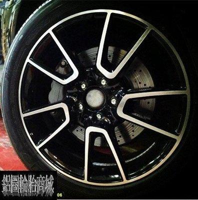 【CS-6741】全新鋁圈 類AMG E-CLASS W213 18吋 5孔112 前後配 w221 s350 實裝圖