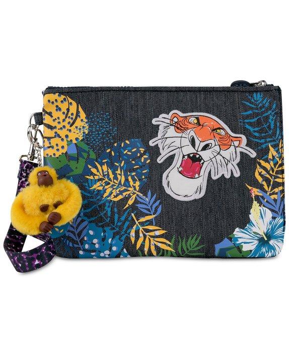 Coco小舖 迪士尼森林王子系列 Kipling Disney's® The Jungle Book 手拿包