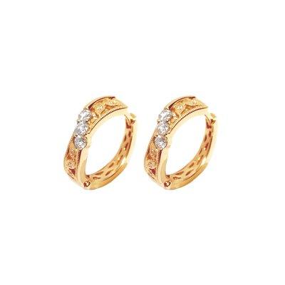 【JHT金宏總珠寶/GIA鑽石專賣】0.28ct天然鑽石耳環/材質:18K(JB51-A15)