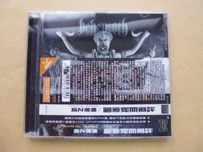 明星錄*2007年進口版Behemoth 比蒙巨獸樂團專輯叛教之徒.二手CD=附側標.紙盒(s223)