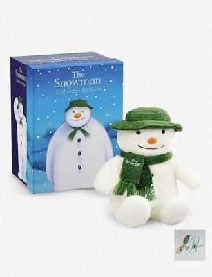 缺貨中[要預購] 英國代購 英國THE SNOWMAN & THE SNOWDOG 40週年精裝珍藏版 雪人娃娃30cm