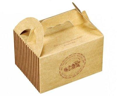 【烘焙百貨】西點牛皮小餐盒-特小餐