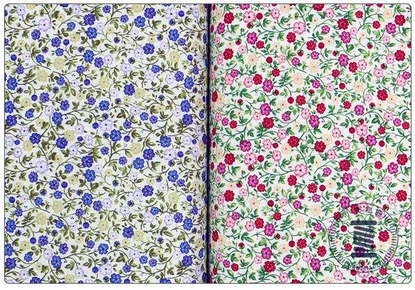 ✿小布物曲✿100%純棉布小花系列4 窄幅110CM 韓國進口布料觸感優 共2色 單價