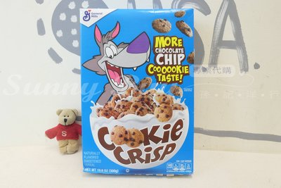 【Sunny Buy】◎盒損現貨◎ Cookie crisp 大野狼麥片早餐 巧克力 酥脆餅乾 300g