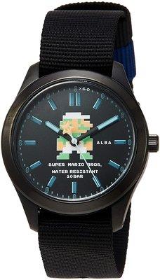 日本正版 SEIKO 精工 ALBA ACCK423 超級瑪利歐 路易 手錶 日本代購
