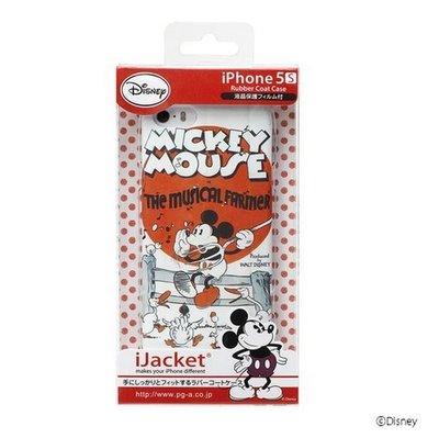 尼德斯Nydus~* 日本限定 正版 迪士尼 Disney 手機殼 保護殼 米奇 復古樣式 iPhone 5 5S