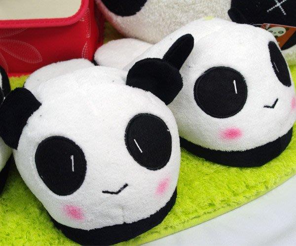 熊貓造型拖鞋 室內拖鞋一雙