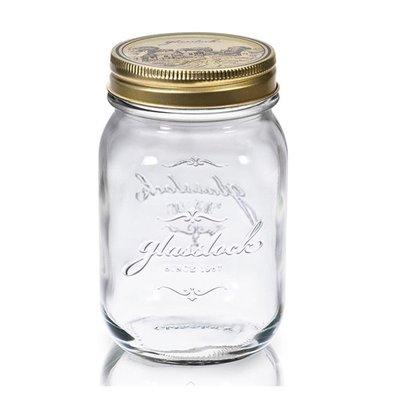 ~全廉社五金~Glasslock經典玻璃密封罐1000ml沙拉罐梅森瓶