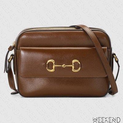 【WEEKEND】 GUCCI 1955 Horsebit Small 小款 肩背包 棕色 645454