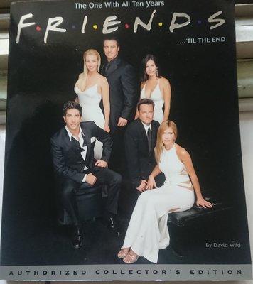 六人行 Friends TIL THE END 1994-2004 進口外文書 美國影集