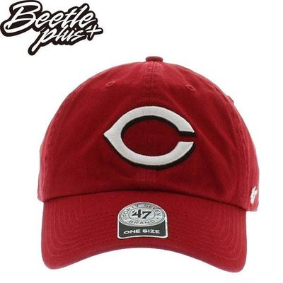 BEETLE 47 BRAND 老帽 CINCINNATI REDS 紅人 DAD HAT MLB 美國職棒 紅 白