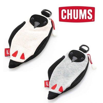 =CodE= CHUMS BOOBY PASS POUCH SWEAT 毛巾布卡夾零錢包(白.灰) CH60-2768