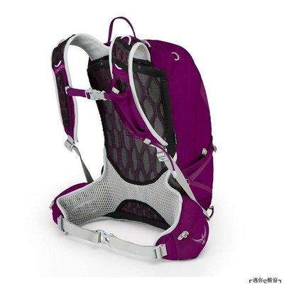 smile小站 潮新款登山包背包OSPREY登山包暴風20升30升戶外背包TEMPEST女款雙肩背包戶外露營旅行魔爪紫色30LWSMK6L79