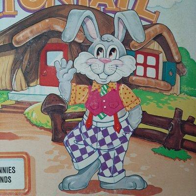 【裊裊影音】Peter Cottontail Plus Other Funny Bunnies and Their Friends黑膠唱片-迪士尼唱片-1972