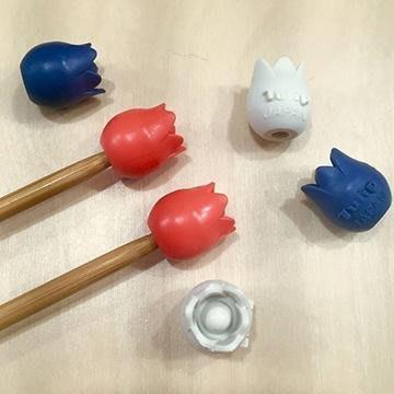 【天河、小珍珍】Tulip棒針尖套(大) 2入裝【日本進口】
