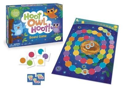 小小貓頭鷹要回家 Hoot Owl hoot 幼兒 家庭 桌遊 桌上遊戲 4y以上