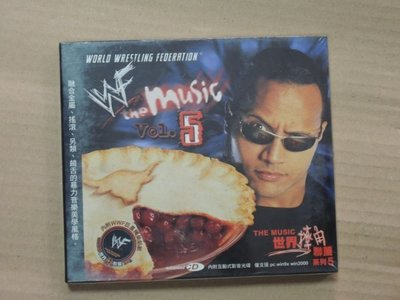 Q9902-早期CD未拆】WORLD WRESTLING FEDERATION - VOL.5-世界摔角聯盟系列5