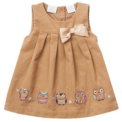 【Nichole's歐美進口優質童裝】Koala Baby女童貓頭鷹棉質吊帶裙*另有Old Navy/OshKosh