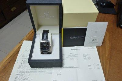 Christopher Ward 自動上鍊錶,ETA機芯,旋入式龍頭,作動正常,無痕無傷如新品。