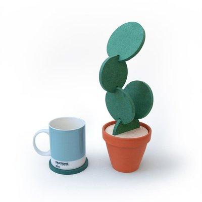 創意商品 仙人掌 杯墊 防滑墊  隔熱 收納 咖啡杯 玻璃杯 居家 擺飾  交換禮物 耶誕 禮品