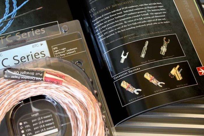 【音逸音響】發燒.喇叭線》美國 Kimber Kable 8TC 原廠盒裝進口(無接頭)3米/對