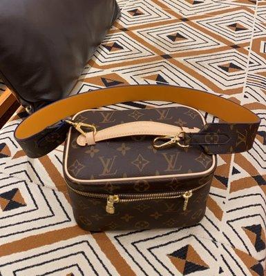 Louis Vuitton J02354 Shoulder Strap 肩背帶 老花 / 黃