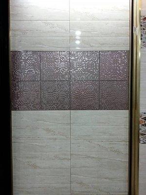 ◎冠品磁磚精品館◎進口精品 高亮釉數位噴墨壁磚+立體線條+金屬磚- 30X60及30X30(六) 新北市