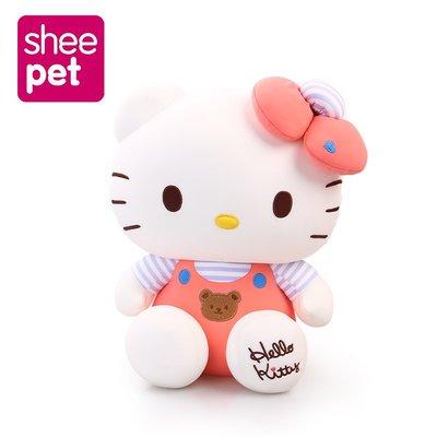 sheepet舒寵毛絨hellokitty娃娃頭可愛哈嘍kitty公仔送女生禮物
