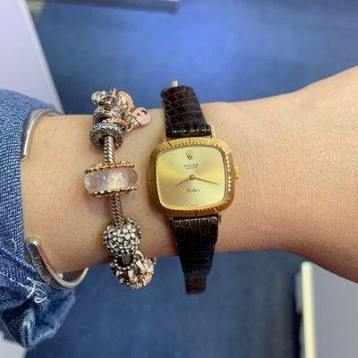 原裝香港行貨 勞力士 Rolex 1979年18K金上鍊錶 運作非常好 有證