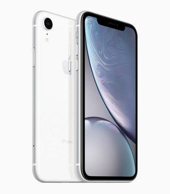 全新 Apple iPhone XR 256GB 1200萬畫素 IP67防水防塵 臉部解鎖 無線充電 智慧型手機