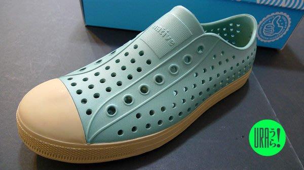 【URA 現貨】士林經銷 加拿大潮流鞋 Native jefferson vintage fuel green/pyramid brown 復古綠 懶人鞋