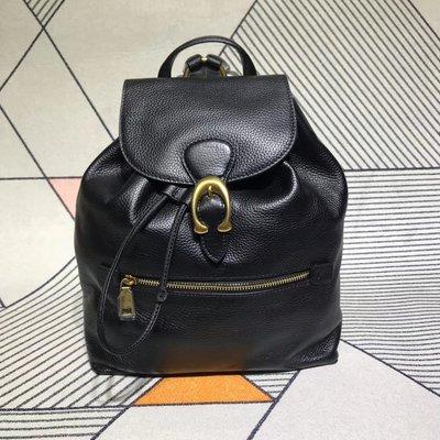 【小怡代購】 全新COACH 68380 美國正品代購新款女士EVIE雙肩包 真皮 休閒後背包 側背包 超低直購