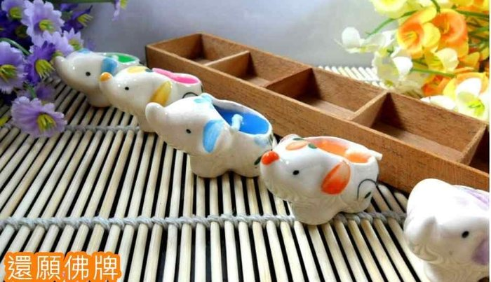 「還願佛牌」泰國 寶塔香 小象 大象 還願用  蠟燭 木質 香盤 香薰 木盒